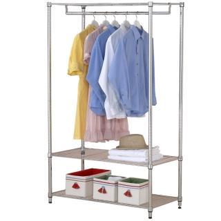 【克諾斯】120*45*180三層單桿衣櫥架