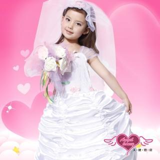 【Angel 天使霓裳】婚禮小天使 萬聖節童裝系列(白)