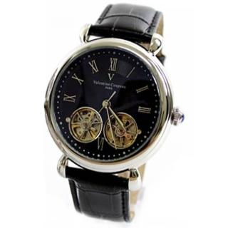 【范倫鐵諾˙古柏】雙擺輪雙發條自動上鍊機械錶