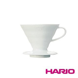 【HARIO】V60磁石濾杯02白色(VDC-02W)