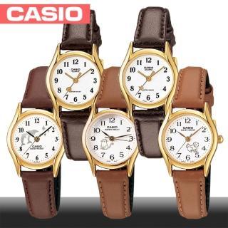 【CASIO 卡西歐】日系-甜心款寵物造型淑女錶(LTP-1094Q)