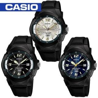 【CASIO 卡西歐】10年電力/大鏡面運動錶(MW-600F)