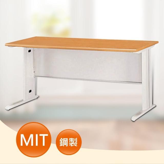 【時尚屋】4尺SCD木紋色辦公桌(Y699-4)