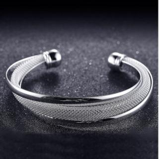 【I-Shine】都會時尚-時尚不規則鍍銀手環(都會時尚-銀)