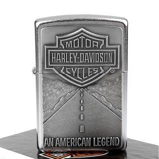 【ZIPPO】美系-哈雷-Harley-Davidson-美國傳奇立體貼飾設計