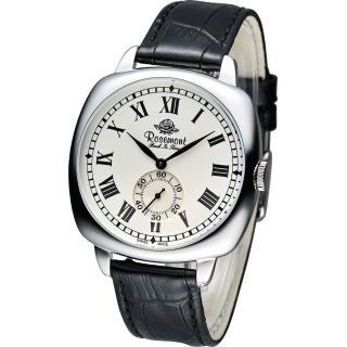 【Rosemont 玫瑰錶】Back In Time 復古時尚腕錶(TB901-SWR-BK)