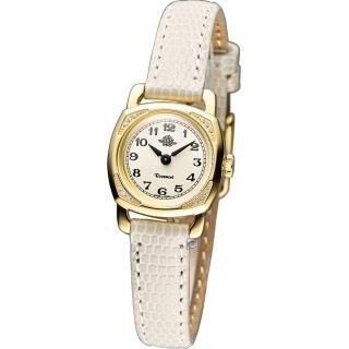 【Rosemont 玫瑰錶】茶香迷你玫瑰時尚腕錶(TRS029-01-WH)