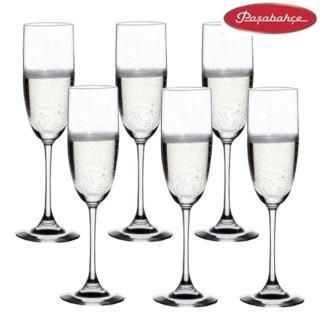 【土耳其Pasabahce】高腳香檳杯170cc(六入組)/