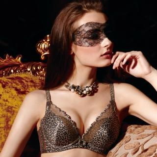 【La Felino】森林派對3/4一體成型泡棉款B-E罩杯內衣(魅力咖)