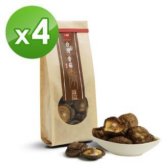 【十翼饌】上等台灣新社香菇(100g x4包)