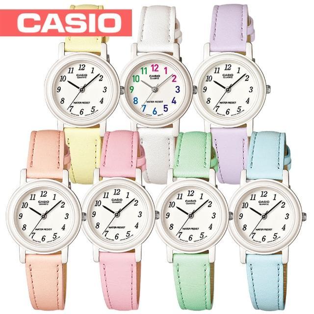 【CASIO 卡西歐】日系-繽紛嫩彩色_亮眼上市_兒童學生錶(LQ-139L)
