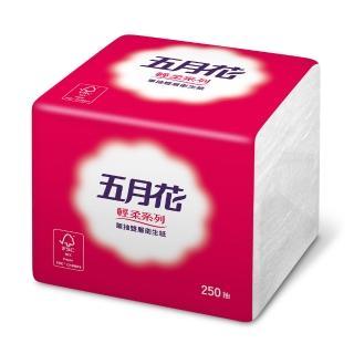 【五月花】單抽式衛生紙(250抽x48包)