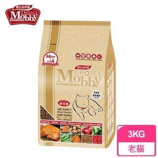 【莫比Mobby】高齡貓/老貓化毛配方(3公斤)