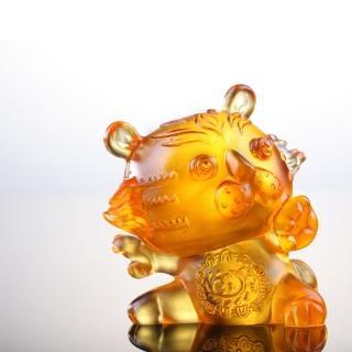 【琉璃工房LIULI】12生肖花燦燦系列-阿猛(適合收藏  生日 節日贈禮)