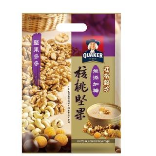 【桂格】穀珍堅果多多系列-無添加糖核桃堅果燕麥(27g*12入)/