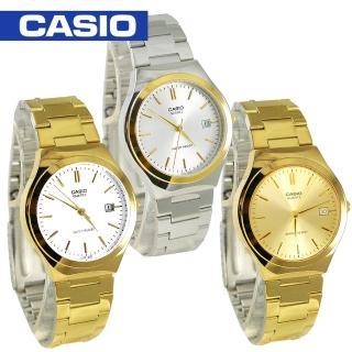 【CASIO 卡西歐】白領階級/上班族/紳士石英男錶(MTP-1170N-MTP-1170G)