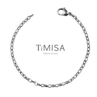 【TiMISA】動感 純鈦手鍊(S)