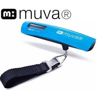 【muva】輕便型電子行李秤(藍)