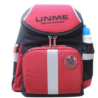【UnMe】新一代運動版超輕人體工學後背書包(紅色)