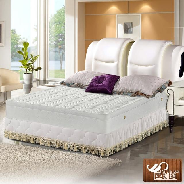 【亞珈珞】3M防潑水蜂巢式三線獨立筒床墊6X6.2尺(雙人加大)/