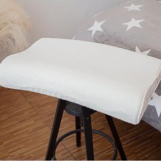 【Lust】矽膠太空記憶枕《專櫃 親水枕 透水/人體工學款》柔軟高密款˙專櫃專賣(米白)