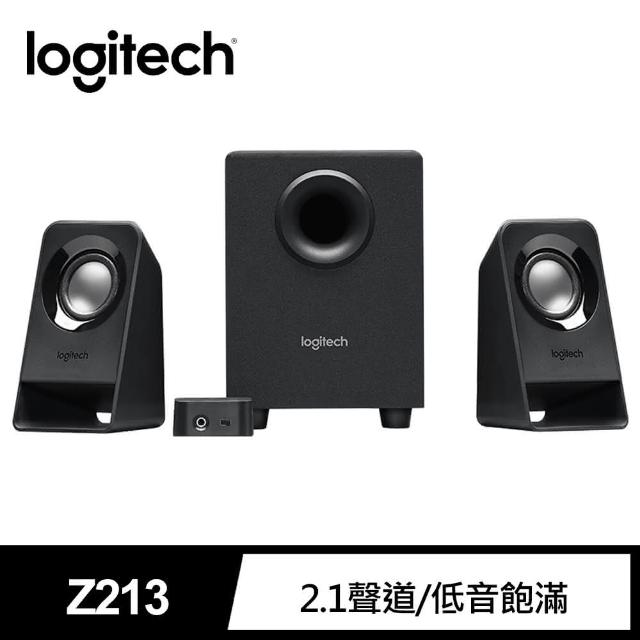 【Logitech 羅技】Multimedia Speakers Z213喇叭