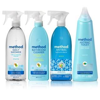 【Method 美則】浴廁清潔劑_輕鬆玩樂4件組