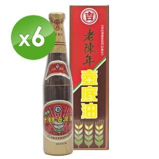 【丸吉】老陳年 純釀甲等壼底油420ml(6入)