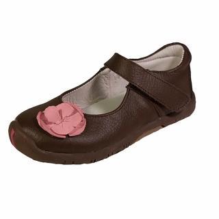 【美國 Rileyroos】手工真皮無毒學步鞋/童鞋/寶寶鞋/嬰兒鞋_費歐納優雅咖啡童鞋(童鞋)