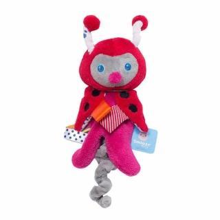 【荷蘭Snoozebaby】奶嘴安撫標籤玩偶(小瓢蟲Zuby)