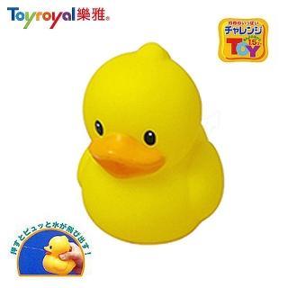 【日本《樂雅 Toyroyal》】洗澡玩具(軟膠鴨子)