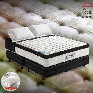 【甜美家】恆溫綠能水冷膠三線硬式獨立筒乳膠床墊(雙人加大6尺 - 免運費)