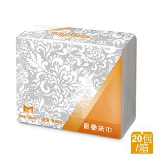 【五月花】MFP摺疊紙巾擦手紙(200張x20包)
