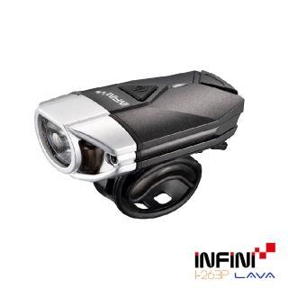 【INFINI LAVA】I-263P 3瓦高效能專業自行車前燈(銀色)