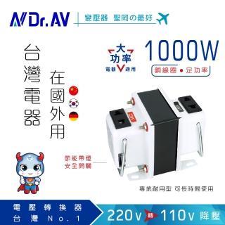 【Dr.AV】GTC-1000 專業型升降電壓調整器(專業型)