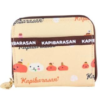 【kapibarasa】水豚君甜點系列方夾(黃色)