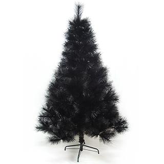 【聖誕樹】台灣製7尺/7呎210cm特級黑色松針葉聖誕樹裸樹-不含飾品-不含燈(.)/
