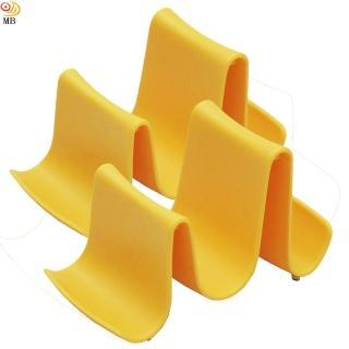 【月陽】優雅波浪造型多用途鍋蓋架湯勺筷架置物架超值2入(A0172)
