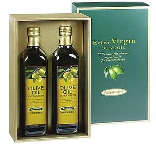 【台糖】頂級橄欖油禮盒(750mlx2瓶)
