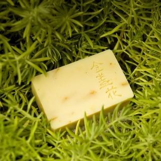 【文山手作皂】金盞花洗顏皂_對於長期處於冷氣房缺水的肌膚很有幫助(外油內乾)