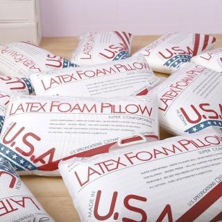 【A-nice】美國進口乳膠枕(中高型/一入)