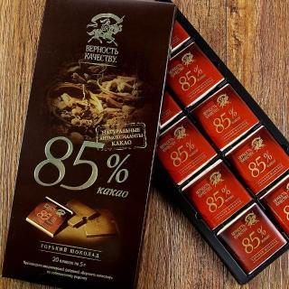 【俄羅斯BK】85%黑巧克力100g