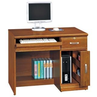 【時尚屋】雅安樟木實木3.2尺二抽電腦桌(259-2)