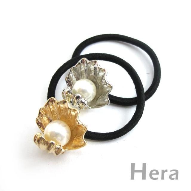 【Hera】赫拉 質感貝殼大珍珠髮圈/髮束(二色任選)哪裡買