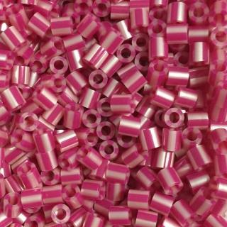 【Perler 拼拼豆豆】1000顆單色補充包-145蔓越莓條紋(特殊色)