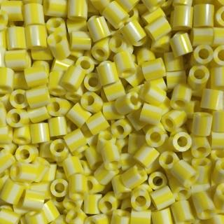 【Perler 拼拼豆豆】1000顆單色補充包-161奶油條紋(特殊色)