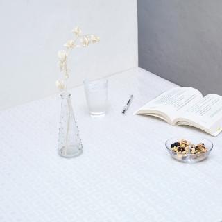 【Homemaker】方塊透明壓紋桌墊-長120cmX寬90cm(RN-TD108-001)