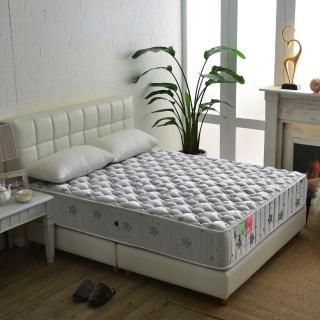 【睡芝寶】飯店級竹碳抗菌除臭防潑水蜂巢獨立筒床墊(雙人5尺)