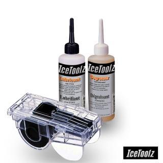 【Icetoolz】EASY CLEANING 三合一鏈條清潔保養組