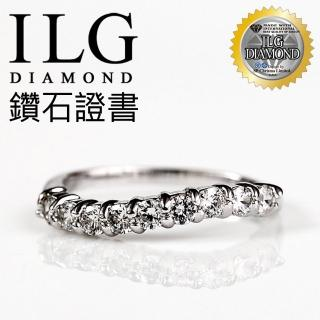 ~ILG鑽~ 八心八箭鑽石戒指~情定紐約款 RI037 尾戒聖誕  新年
